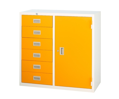 keep and storage documents and files in the beautiful steel cabinet photo
