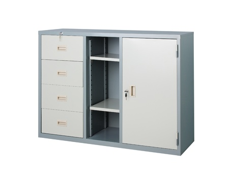 file cabinet: Metal steel for factory or office furniture