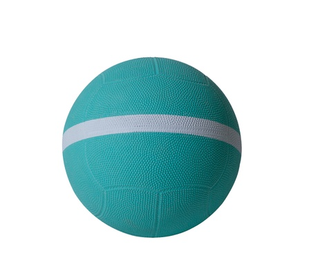 sporting goods: Nice dodgeball with white strip the sporting goods utility tool