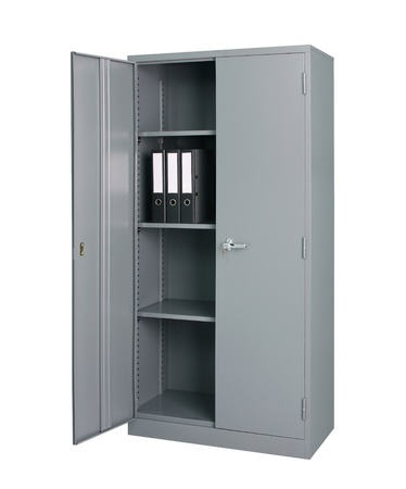 depository: Steel cabinet for factory school gyms or office furniture