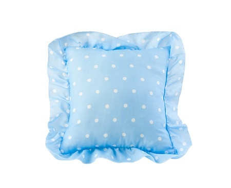 nice blue pillow for kids great for there bedtime Stock Photo - 16654164