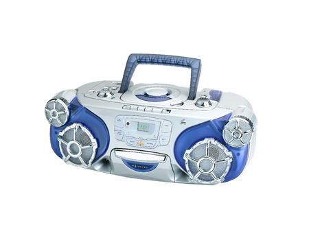Audio DVD CD player for your home entertainment or outdoor picnic photo