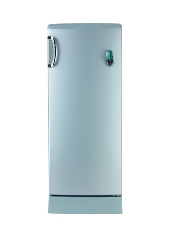 Nice refrigerator isolated on white Stock Photo - 16653867