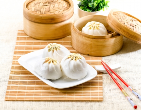 dim: Dumpling a great asian steaming food menu