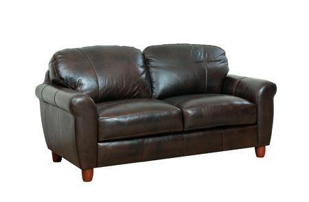 brown leather sofa: lusso del divano in pelle marrone scuro migliori per gli hotel di lusso o case