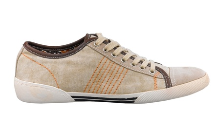 Sneaker old style design casual men's shoe for every occasion Stock Photo - 16654386