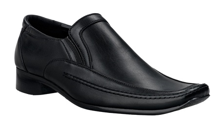 Smart and luxury men shoe in genuine black leather Stock Photo - 16654412