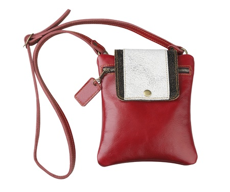 haversack: Woman leather haversack wallet bag beautiful and convenience
