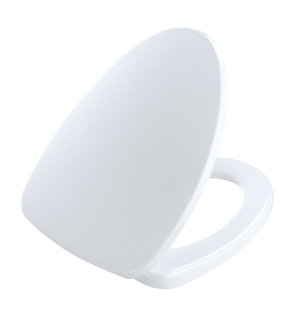 Toilet bowl cover the toilet kit accessories Stock Photo - 16801478