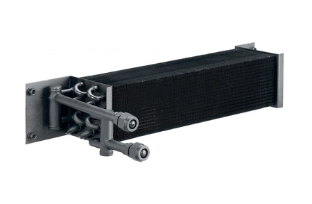 Radiator cooling air condition systems in the automobiles isolated  photo
