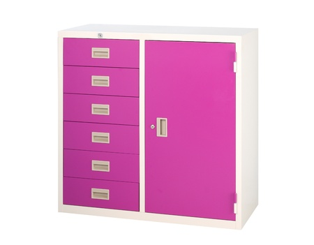 Beautiful and useful cabinet to safe all your documents its steel furniture  photo
