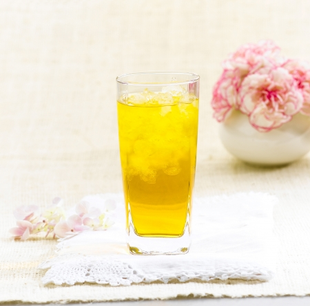 relive: Chrysanthemum Thai herb juice drinks to relive thirsty
