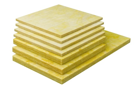polyurethane: Insulator sheets for heat protection in the industry Stock Photo