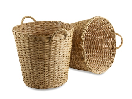 rattan: Handmade rattan basket the old fashioned Thai style handicrafts
