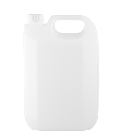 Empty transparent and clear gallon without logo or sign on it Stock Photo - 16984224