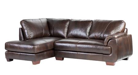 muebles de madera: Lujo suave y cómodo banco de cuero genuino