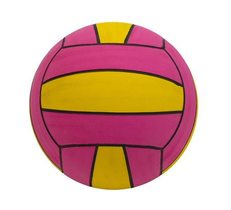 waterpolo: Waterpolo ball the water sporting goods isolated  Stock Photo
