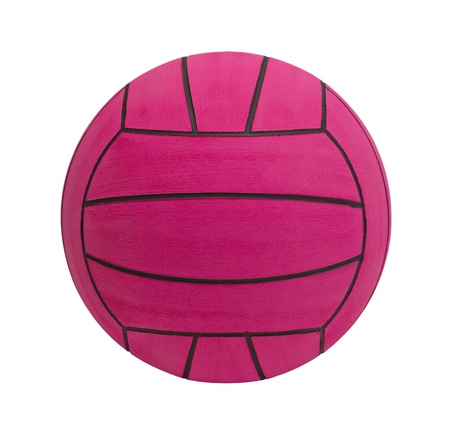 ball on water: Waterpolo ball the water sporting goods isolated Stock Photo