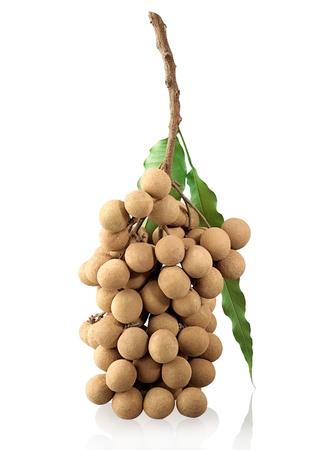 longan: Longan sweetness of Thai tropical fruit Stock Photo