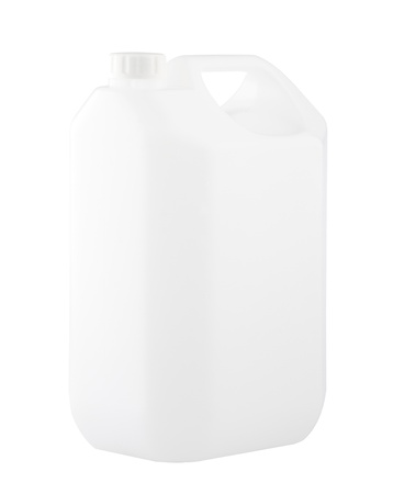 Empty 5 litres gallon no sign or label best for putting your products logo on it Stock Photo - 17387285
