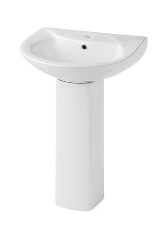 Beautiful design of the washbasin isolated Stock Photo - 17387316