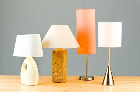 아름다움과 실내 장식을위한 램프의 유용