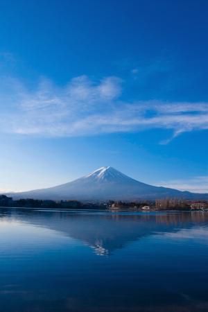 Mt Fuji altijd mooi in elk seizoen