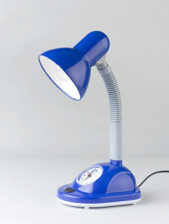 Nice blue lamp isolated  Stock Photo - 17584053