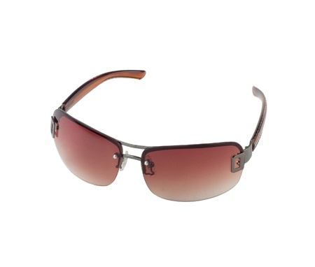Beautiful sunglasses for outdoor use on a sunny day isolated  photo