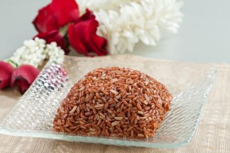 brawn: Thai jasmine brawn rice clean and hygiene food