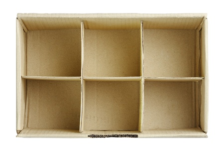 Empty slot box to put your images into it isolated on white Stock Photo - 17584733