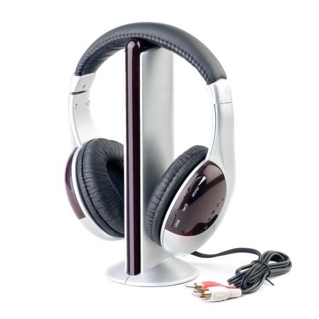 audio player: Modern audio player and headphone set