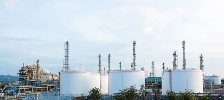 propane tank: Panoramic view of the propylene chemical plant