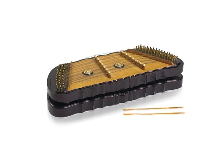 lyre: Thai wooden dulcimer musical instrument