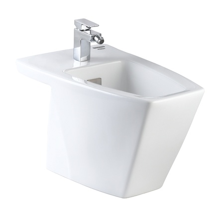 Clean hygienic and useful toilet bowl for your new and modern bathroom Stock Photo - 18208246