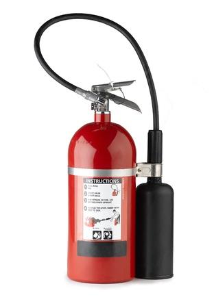 Ручной огнетушитель более портативными и удобство в использовании Фото со стока