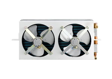 condensing: The condenser unit for air conditioner