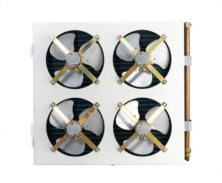 condensing: Air condensing fan cooler, air condition accessory