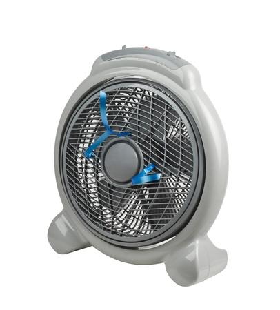isolates: Mini portable electric fan isolates on white background