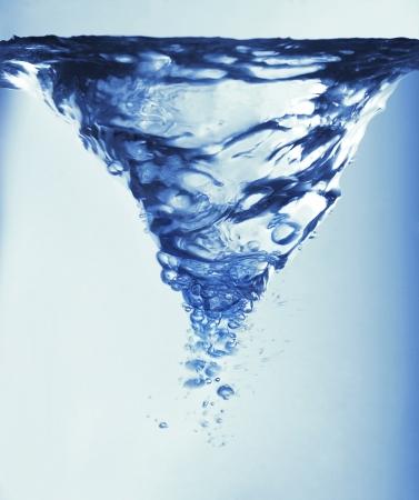 아름 다운 물 선회 당신의 상상에 불이 있습니다