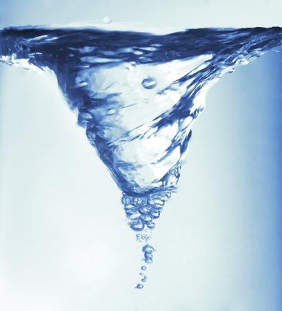 Вода кружась прекрасный образ для делает свой идеальный воображение и идеи