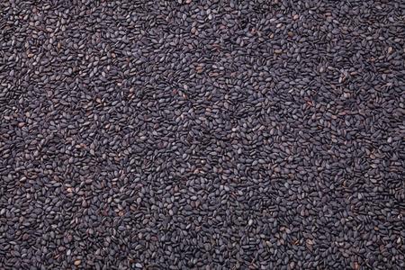 sesame seeds: Black sesame seeds isolated on white background