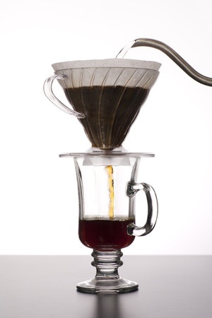 The process of making pour over coffee Stock fotó - 29514623