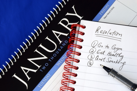 january calendar: Some proposed resolutions for the New Year