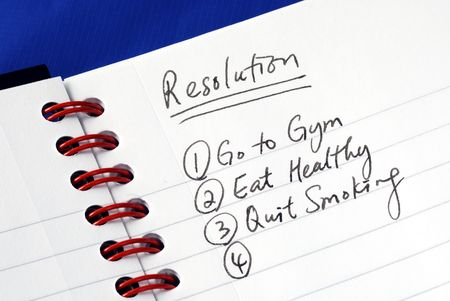 Some proposed resolutions for the New Year