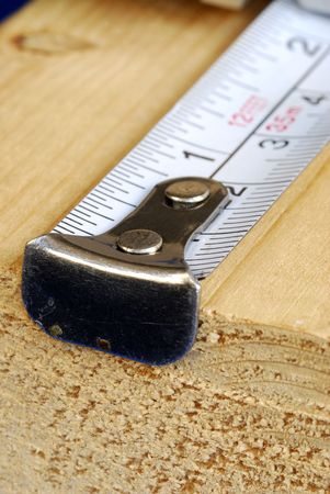 Measuring tape is the tool for carpenters  photo