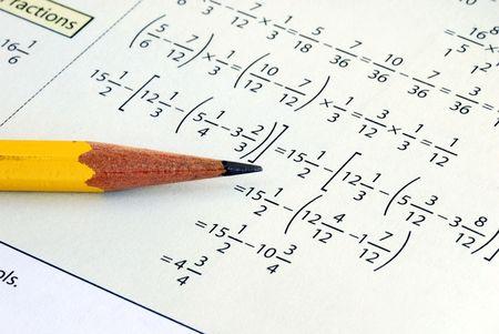 teorema: Haciendo algunos primaria matem�ticas con un l�piz