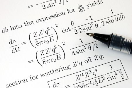 Try to solve some complicated mathematics questions photo
