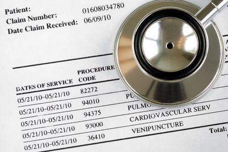 dichiarazione: Bill dai concetti medico dei crescenti costi per assistenza medica