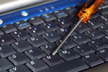 computer service: Bieten guten Service in einem Computer-Support-Gesch�ft